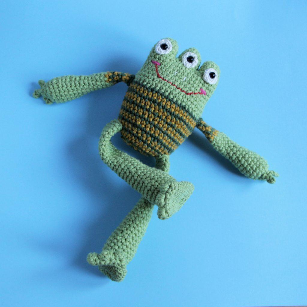 Boris the Frog | Crochet frog, Crochet patterns, Free crochet | 1024x1024