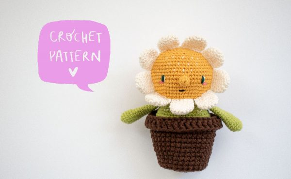 MARGARITA THE FLOWER [free crochet pattern]