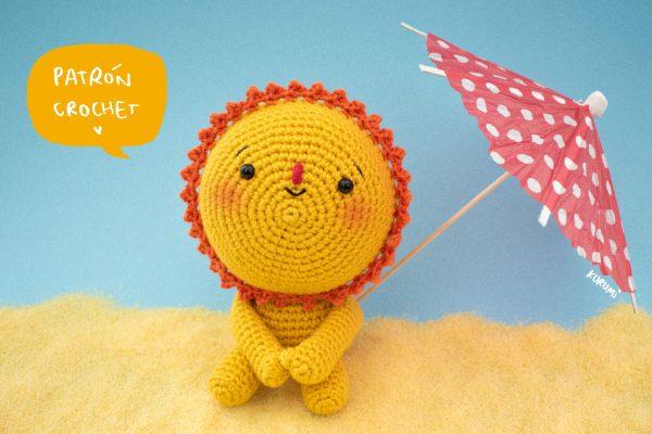 ANTU, el pequeño sol [patrón crochet]